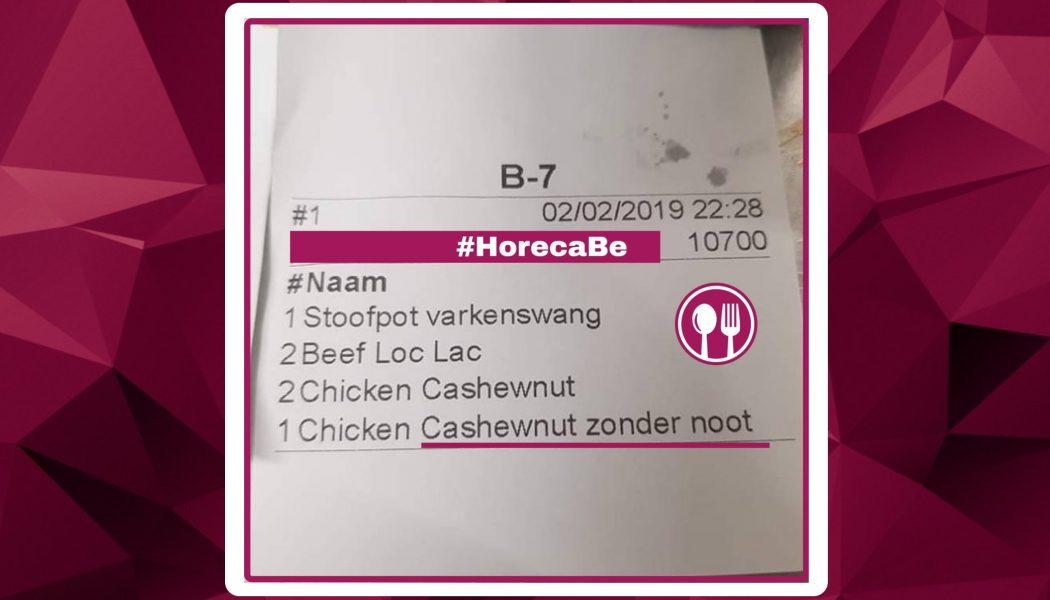 Horeca België Fun cashewnut zonder noot