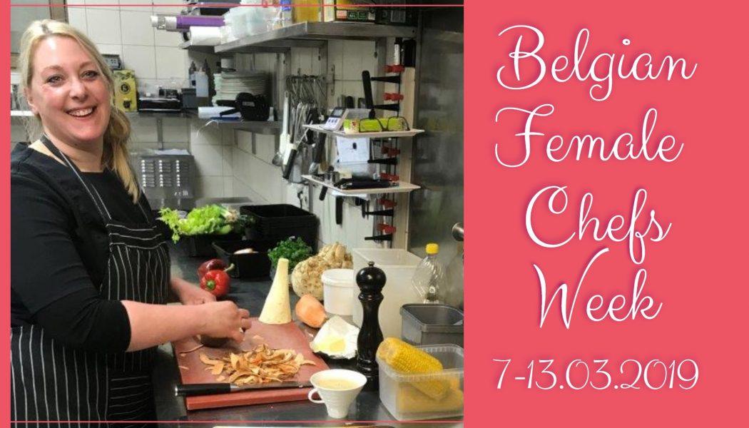Horeca België campagne Belgian Female Chefs Week Candy Senden