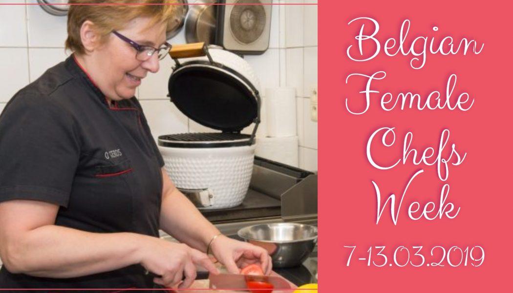 Horeca België campagne Belgian Female Chefs Week Mariane