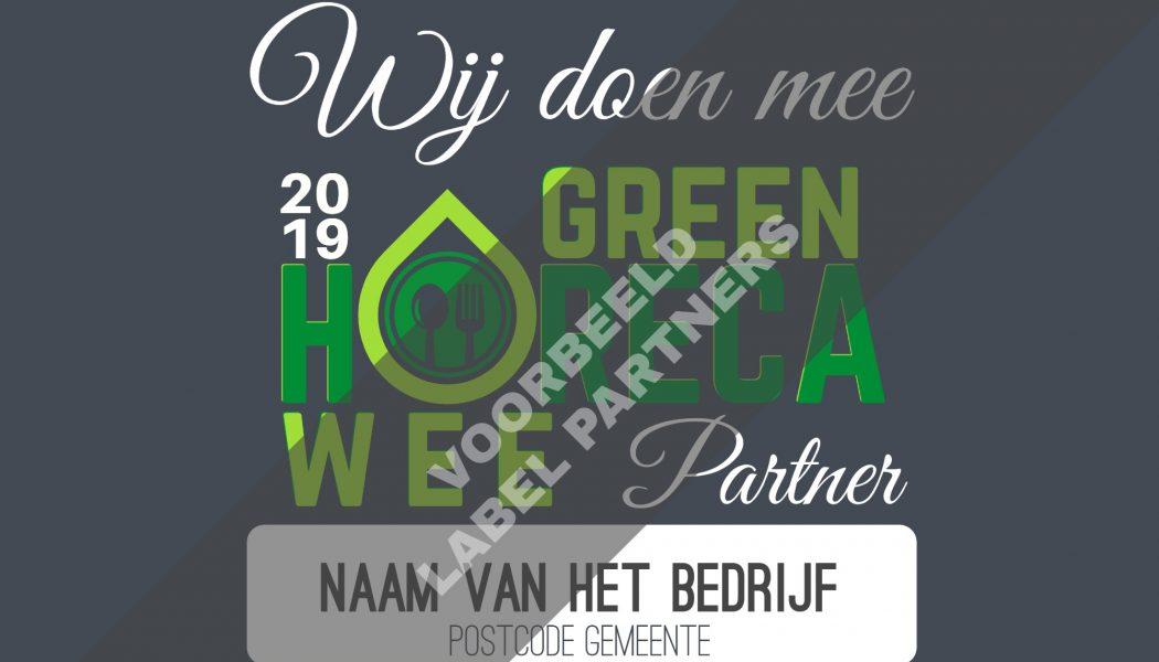 Green Horeca Week partnerschappen Horeca België