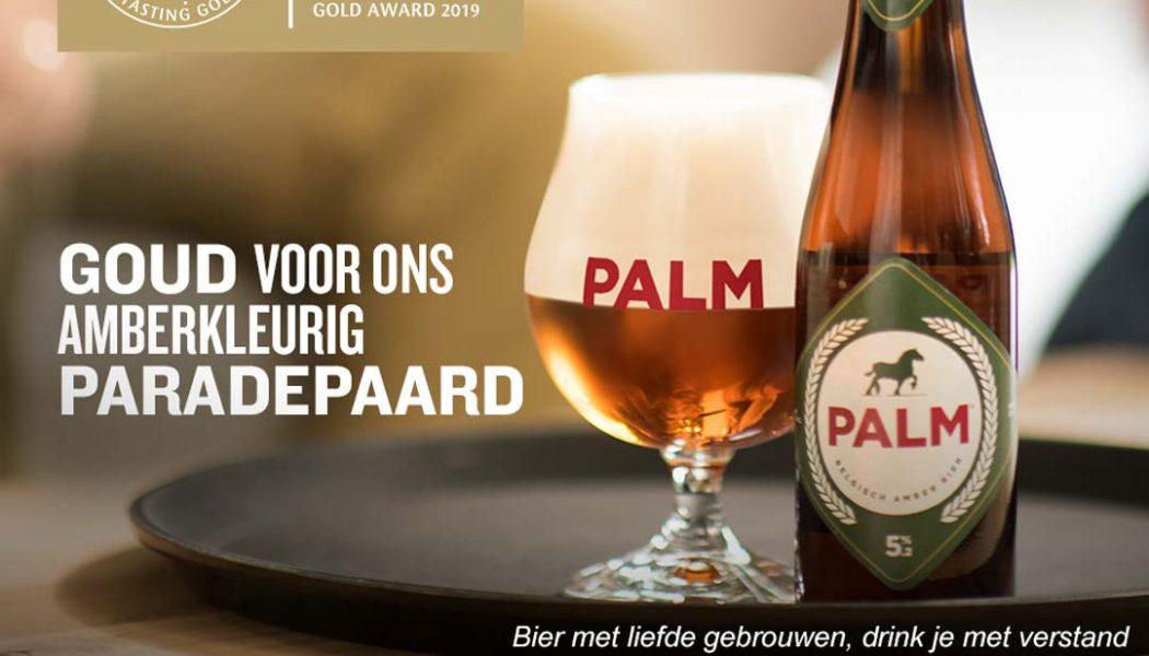 Gouden medaille voor PALM op de prestigieuze biercompetitie 'European Beer Star 2019'