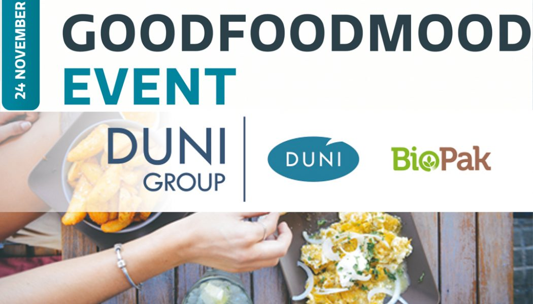 Duni Sustainable GoodFoodMood Event Horeca België Online horeca beurs