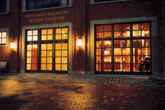 Bezoekerscentrum 'd' Oude Bottelarij' van Brouwerij Palm-De Hoorn tijdelijk uitgerust als studio voor live presentaties en Webinars