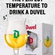 Nieuw Duvel GlasHoreca belgië