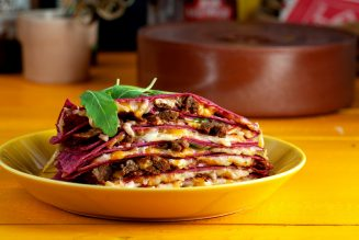 La Street food horeca Belgiëlaf quesadilla roze (2)